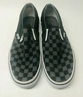 VANS OFF THE WALL CLASSIC SLIP ON CHECKERBOARD SKATE SHOES UNISEX MEN7.5 WOMEN 9