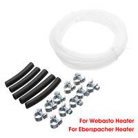 3mm Heater Fuel Pipe Line Hose Clip Kit For Webasto Eberspacher 89031118