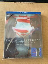 Batman V Superman Lenticular 3D Blu-ray SteelBook Manta Lab NEW & SEALED DCU OOP