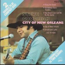 """STEVE GOODMAN CD: """"CITY OF NEW ORLEANS"""" 1989"""