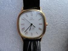 Vintage OMEGA DeVille Quartz 1336 Leather Strap Watch...Nice One!