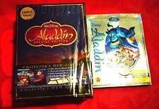 Disney Aladdin Blu-ray DVD Digital HD Diamond Special Platinum Edition Gift Set