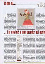 Coupure de presse Clipping 2005 Elena Lenina  (1 page)