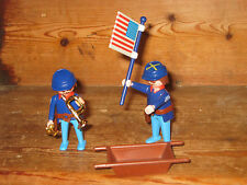 PLAYMOBIL ARMY  WEAPONS GUN CASTLES FLAG TRUMPET BATTLES PLAY FIGURES SIT STAND