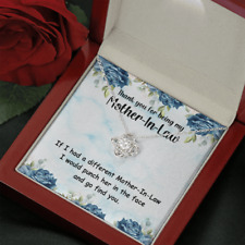 Necklace Gift for Mother-In-Law - Happy Mother's Day, Birthday, Christmas