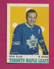 1970-71 OPC # 221 LEAFS RON ELLIS  CARD