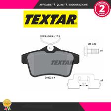 2492201 Kit pastiglie freno a disco post.Citroen-Ds-Peugeot (MARCA-TEXTAR)