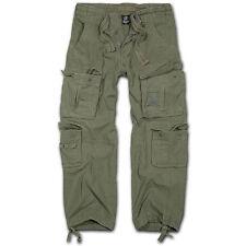 Brandit pure Vintage Trousers Freizeithose Oliv XL