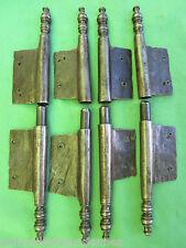 4 fiches à larder fer forgé turlupée Louis XV ancien haut 24,5 cm porte meuble