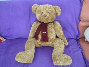 seltener ca. 80 cm großer limitierter Original Douglas  Jahres Teddy von 2000