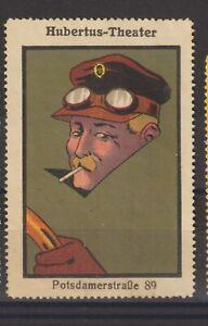 German Poster Stamp Theatre Car
