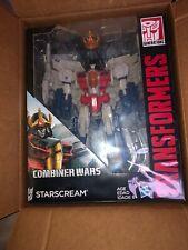 Transformers Generations Combiner Wars Leader Class Starscream MINT C-9 2015 new