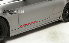 Racing Performance Sport Vinyl Decal Sticker racing sport car emblem logo RED