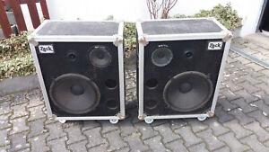 2 x Zeck CM 800 - Profi Boxen - Konzert - Discothek - Studio Boxen- Top- geprüft