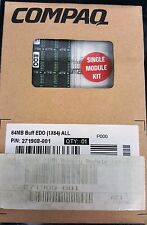COMPAQ 271908-001 64MB 168PIN EDO DIMM BRAND NEW IN ORIGINAL COMPAQ HP BOX