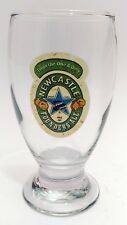 """New listing Newcastle Founders' Ale 14 oz Stem Foot Beer Glass Goblet """"From the One & Only"""""""