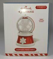 Hallmark Keepsake 2015 Ornament HAPPINESS MAKES MAGIC Sound Light & Motion NEW