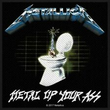 Metallica - Metal Up Your Ass Sew-On Patch