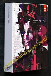 neu: Adobe Indesign CS6 Macintosh - Vollversion deutsch Box mit DVD - incl. MwSt