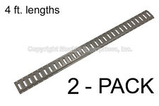 E Track - Mfg. In The USA - 4 ft. Horizontal/ Trailer Tiedown - 2 Pieces