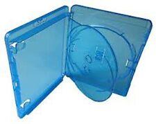 5 x Genuine 3 Disc Triple Amaray Bluray Blu ray dvd cases