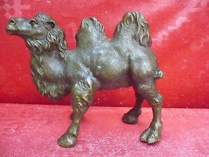 Belle, vieux Bronze __ Figure en Chameau __Bactriane__ 3,3kg