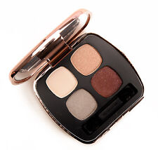 """Bare Escentuals READY Eyeshadow """"The Main Event"""" Quad w/ Tapered Brush LE NEW!"""