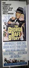 THE GEORGE RAFT STORY 14x36 poster JAYNE MANSFIELD/JULIE LONDON/BARBARA NICHOLS
