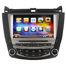 Koolertron Autoradio Satnav GPS Navigation DVD Stereo For Honda Accord 2003-2007