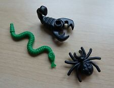 LEGO MINIATURE MINIFIG ANIMAL SCORPION SNAKE BAT HARRY CASTLE PIRATES INDIANA :
