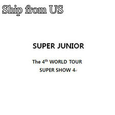 K-Pop Super Junior - The 4th world Super Show 4 ( 3 CDs)  (SJUSPS4)