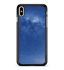 Blue Sky Night Starry Galaxy Universe Space View Coloured 2D Phone Case Cover