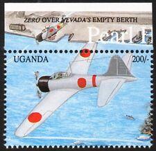 IJN Mitsubishi A6M ZERO-SEN Aircraft over Nevada Berth WWII Pearl Harbor Stamp