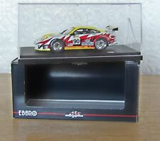 1.43 Scale Ebbro White Lightning Racing Porsche 911 GT3 RSR 2005 Le Mans