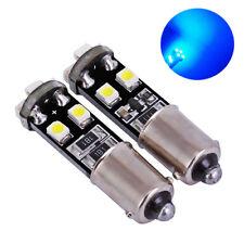 2 Birnen LED H6W BAX9S blau Nachtlichter -leuchten Position ohne MESSAGE Fehler