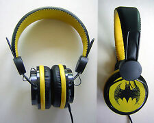 Batman Over The Ear Headphones DC Comics Ear Pad NEW USA SHIPPER
