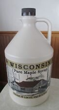 1 Gallon 100% pure Wisconsin Maple syrup