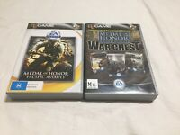 Medal of Honor Allied Assault War Chest & Pacific Assault PC Game Bundle Vintage