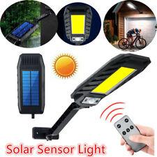 180 COB LED Solar Street Light Waterproof Motion Sensor Outdoor Path Wall Lamp