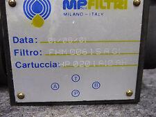 NEW MP FILTRI Hydraulic Filter HP0201A10AH, # FHM0061SAG1