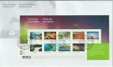 Canada 2018 FDC #3056 From Far and Wide –1 - MNH