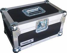 "7"" Single 200 Swan Flight Case Record Box (Black Rigid PVC)"
