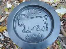 plastic plaque mold dog Spaniel decorative stepping stone garden mold