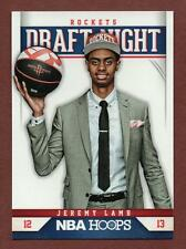 2012-13 Panini NBA Hoops #12 Jeremy Lamb Rockets Basketball Rookie Card UCONN
