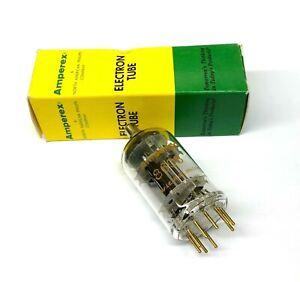 8608  NOS  Gold Pins Amperex Holland Valve Tubes