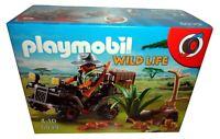 PLAYMOBIL WILD LIFE 6939 EVIL EXPLORER WITH QUAD *BNIB*