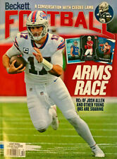New December 2020 Beckett Football Card Price Guide Magazine With Josh Allen