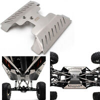 KYX 1/10 RC Metal Chassis Guard Bumper Skid Plate for Axial Capra UTB RC Crawler
