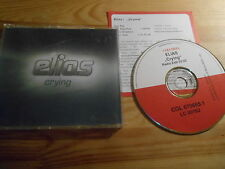 CD pop Elias-Crying (1 chanson) promo Columbia rec sc + presskit