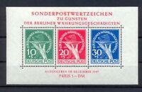 Berlin Block 1 III Währungsgeschädigte postfrisch geprüft HD Schlegel (gr308)